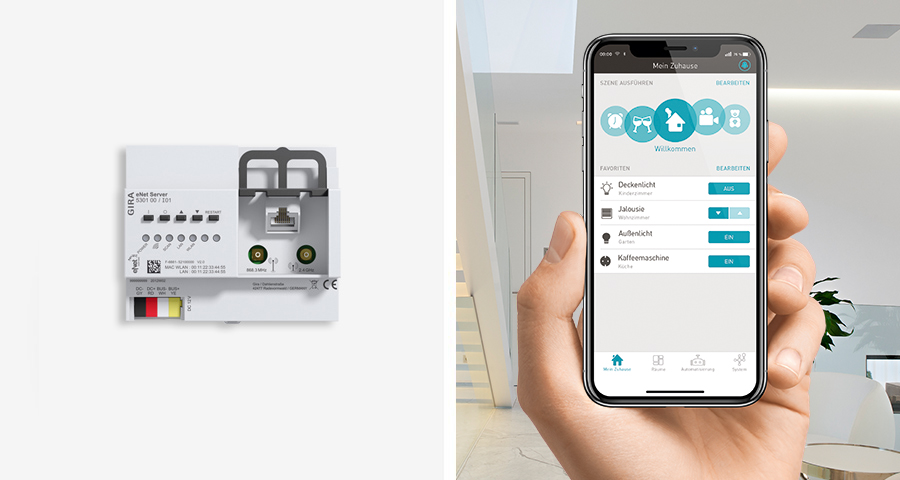 Gira eNet SMART HOME Header